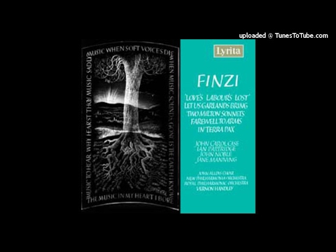 Gerald Finzi : Love's Labour's Lost, Suite from the incidental music Op. 28b (1946)