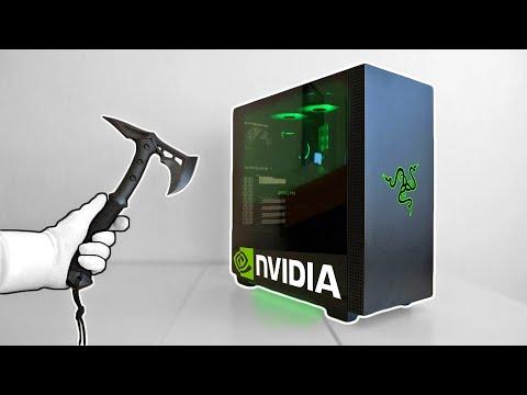 Razer Tomahawk Gaming PC Setup (Nvidia RTX 3060, LG UltraWide)