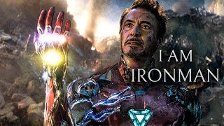 I AM IRON MAN | Tony Stark Endgame