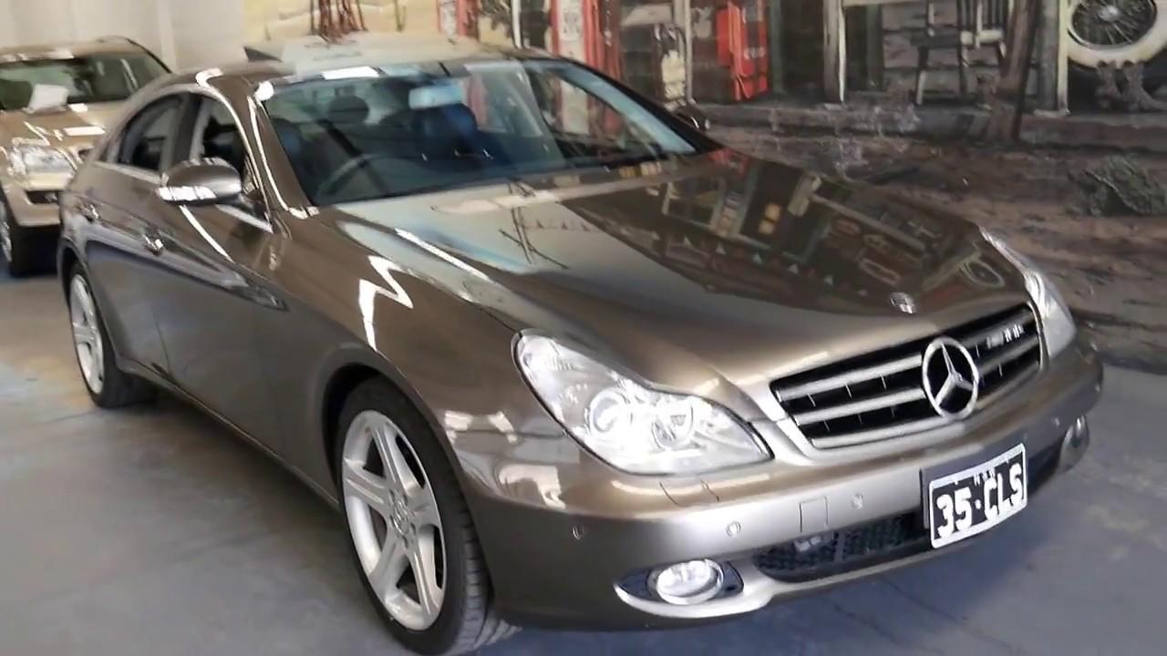 2df8baddbfbb4c 2007 Mercedes Benz CLS350 in Cubanite - YouTube