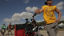 Okeechobee pedicab driver finds love while riding