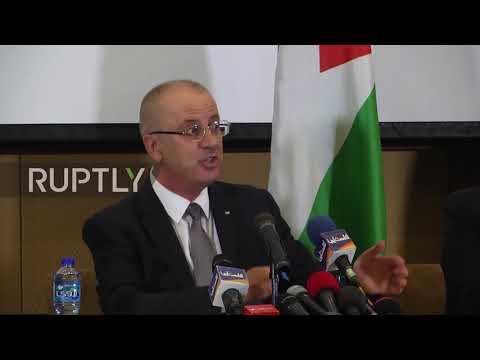 State of Palestine: Al-Hamdallah calls for Gaza-West Bank unity after Jerusalem declaration