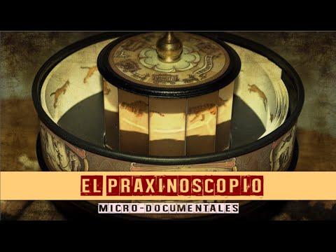 El Praxinoscopio de Émile Reynaud (Microdocumental)