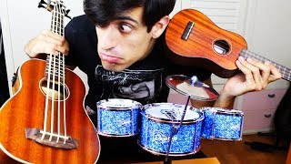 """""""All The Small Things"""" played on small instruments"""