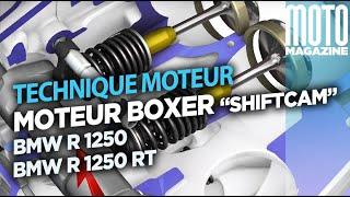 BMW R 1250 GS 2019 et R 1250 RT - moteur BOXER