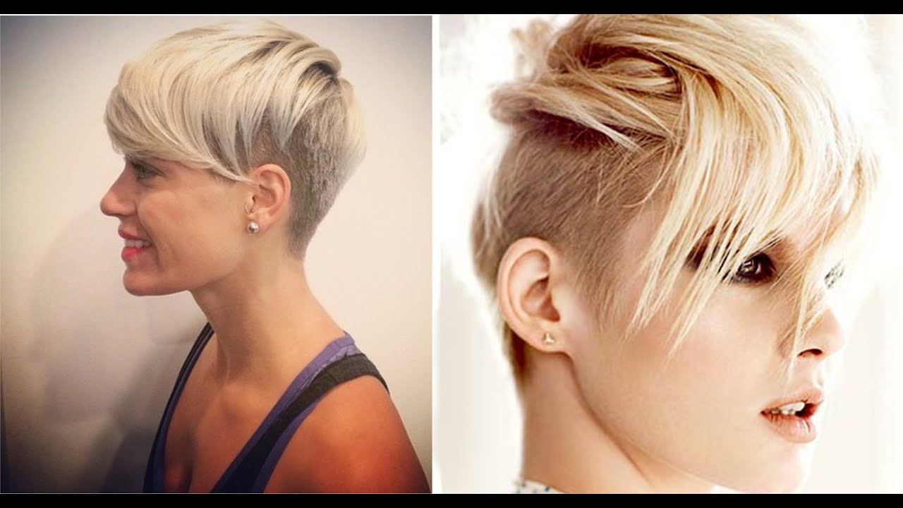 Female Shaved Hairstyles - YouTube