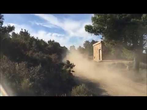 4° Cronoscalata su terra Tandalò 2019 : A.Ortu  Lancia Delta HF integrale Proto