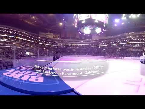 Ride a Zamboni at an L.A. Kings Game in 360
