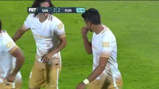 Santos 3-4 Pumas - J7 - Apertura 2015