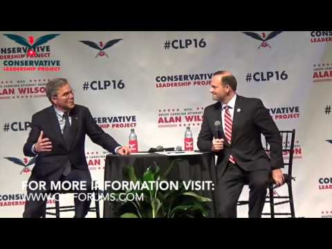 CLP Presidential Forum: Gov. Jeb Bush with Attorney General Alan Wilson