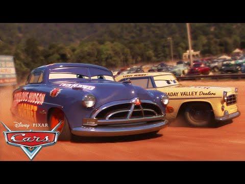 Doc Hudson's Racing History | Pixar Cars