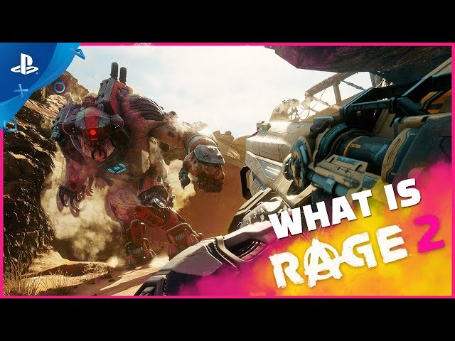 Rage 2 - What is Rage 2 Trailer | PS4