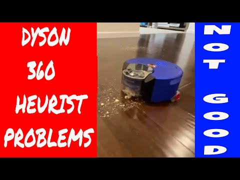 Dyson 360 Heurist Robot Vacuum Partial Review Initial Impressions after 2 runs - Battery Life? Map?
