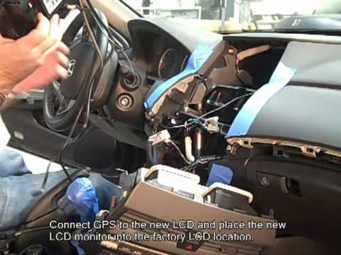 Rosen Entertainment Honda Accord Install Youtube