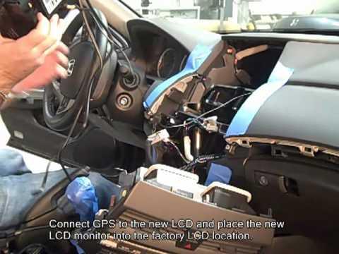 2008 Honda Civic Radio Wiring Diagram Rosen Entertainment Honda Accord Install Youtube