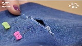 Remendos em Jeans – Costura com Riera Alta