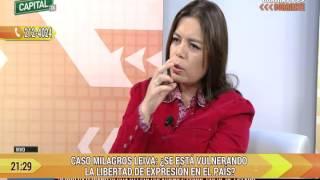 Entrevista de Mariella Patriau a Milagros Leiva y César Nakasaki por escándalo MBL (Capital TV)