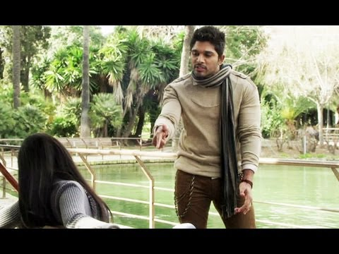Iddarammayilatho New Dialogues - Allu Arjun, Amala Paul, Catherine Tresa Travel Video