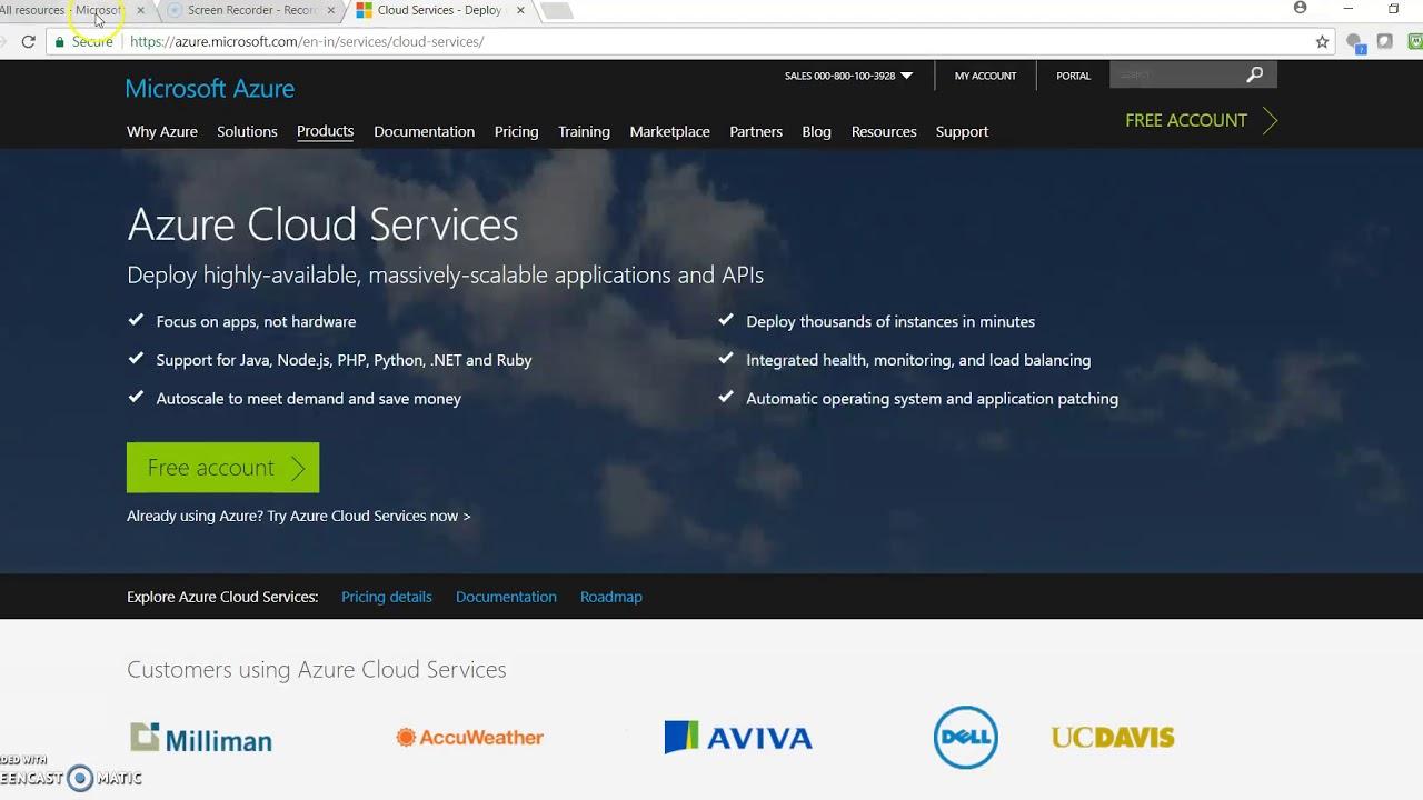 Net Web Api To Azure Cloud Service Using Visual Studio 2017