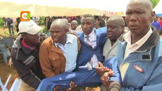 7 shot as burial of MP Kibunguchy's driver turns chaotic