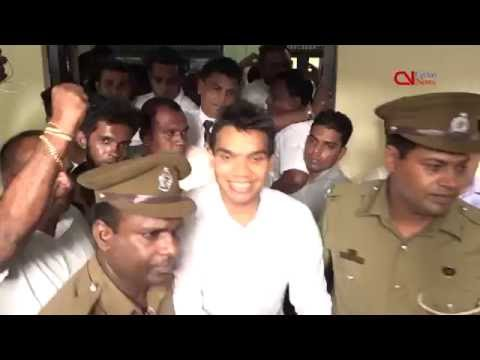 Namal Rajapaksa arrested on financial crimes charges