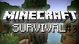 Minecraft Survival - Bölüm 3 - Avcılık Yaptım