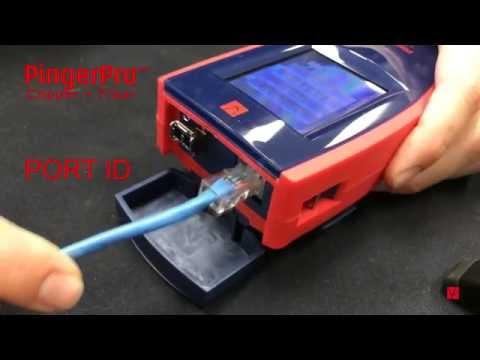 Тестер для проверки витой пары RX-1000: нет соединения - YouTube