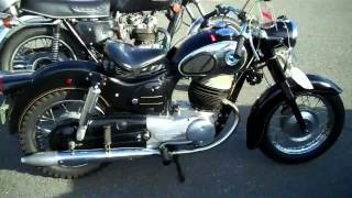 1964 Sears Allstate motorcycle 250cc-Puch 2 stroke