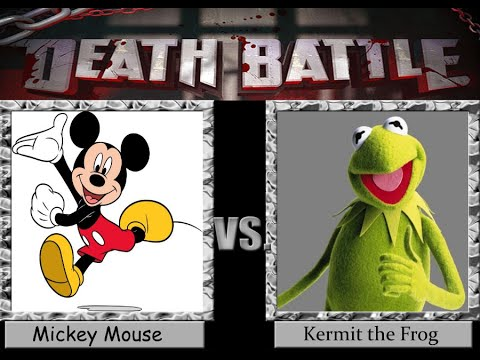 WWE 2K15 Mickey Mouse Vs Kermit The Frog
