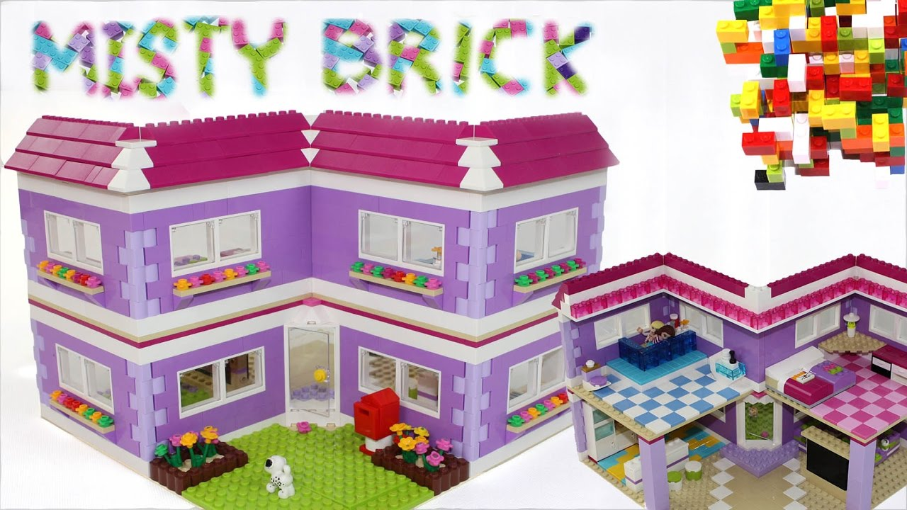 Lego Friends House #14 by Misty Brick
