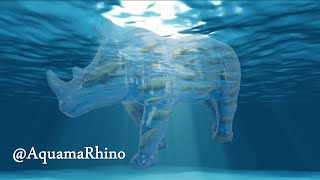 The creation of AquamaRhino for The Great Big Rhinos Project Paignton Zoo