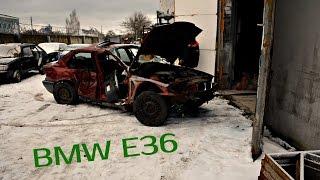 БМВ Е36, мотор м40, оживляем двигатель после ДТП \  bmw e36 m40(, 2016-12-30T15:43:22.000Z)