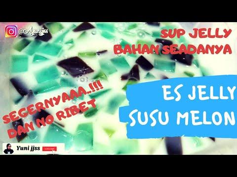 Bikin Es Jelly Susu Melon Seger | SUP Jelly | Ide Jualan