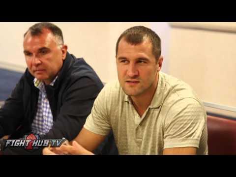 """Sergey Kovalev """"I understand why Canelo doesn"""