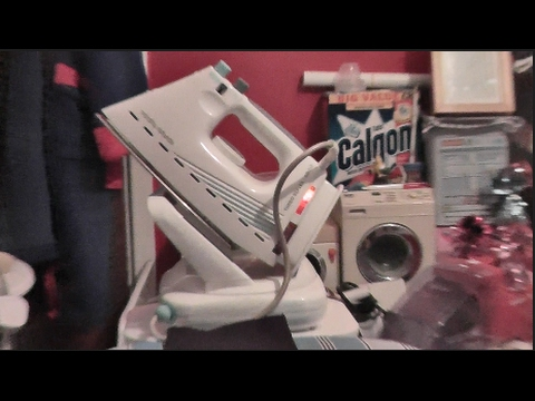 Morphy Richards Turbo Reflex 9000 Steam Iron - Overview & Demonstration + *IMPORTANT ANNOUNCEMENT*