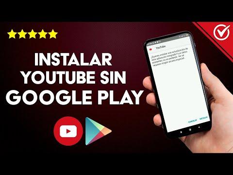 Cómo Descargar e Instalar YouTube sin Google Play en Android e iOS