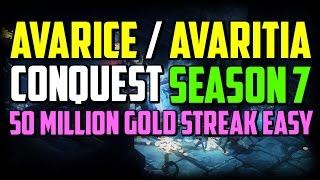 Diablo 3 - Avarice / Avaritia Conquest Season 7
