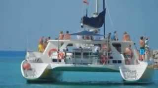 Puerto Aventuras Mexico - Catamaya Catamaran Tour