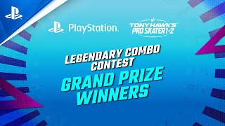 Tony Hawk's Pro Skater 1+2 - Legendary Combo Contest Winners | PS4