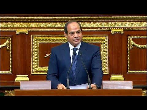 Abdel Fatah al Sisi sworn in as Egyptian president