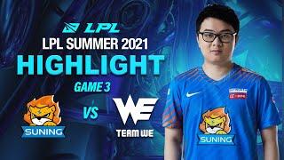 [ Highlights SN vs WE - GAME 3 ] KHỞI ĐẦU ĐẦY GIAN NAN DÀNH CHO SN