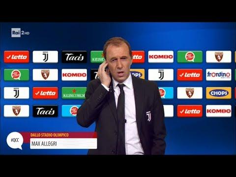 Max Allegri dopo il derby di Torino - Quelli che il calcio 18/02/2018