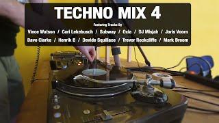 Techno Mix 4 | With Tracklist | Vinyl Mix