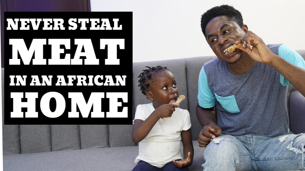 NEVER STEAL MEAT IN AN AFRICAN HOME | Mc Shem Comedian