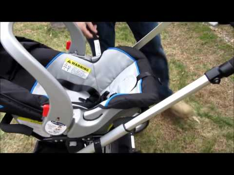 Baby Trend Go-Lite Snap N Grow Stroller Review - YouTube