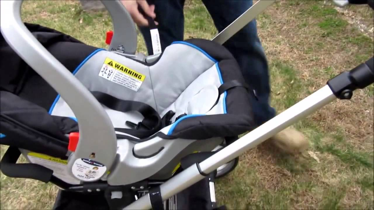 Baby Trend Go Lite Snap N Grow Stroller Review Youtube