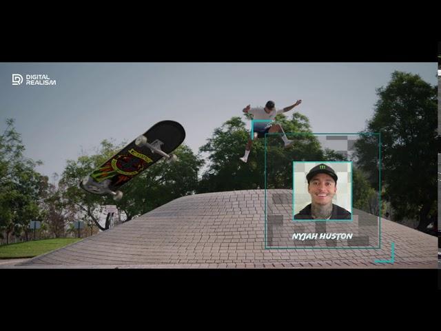 Skateboard Graphics Test