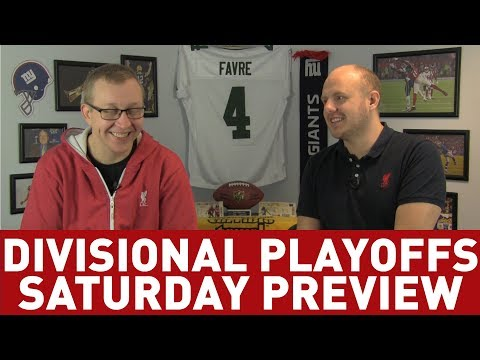 DIVISIONAL ROUND SATURDAY PREVIEW - THE NFL PLAYOFFS PREVIEW SHOW