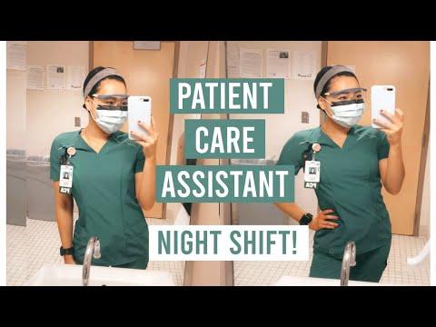 WORK W/ ME: Night Shift + Patient Care Assistant/Tech!