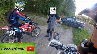 Angry People vs. Biker// Ranger // Summer ride 2k16/Yamaha DT/Honda CR/Yamaha XT/SachsZX[German]
